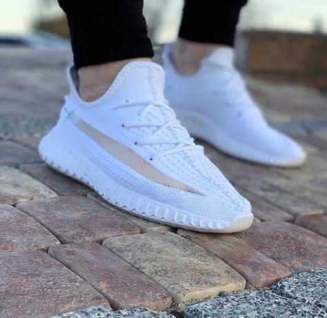 Распродажа Мужские Кроссовки под Adidas Yeezy Boost 350 (white) 41 р