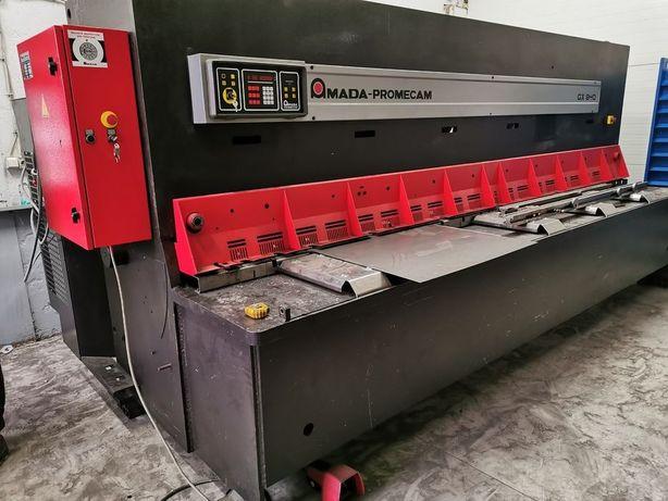 Amada 4m x 8mm, Gilotyna hydrauliczna, Gilotyna do blachy, Promecam