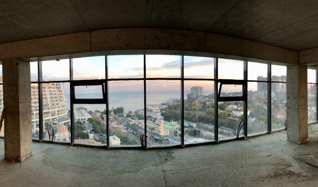 Аренда офиса в Аркадии с видом на море 86,2 кв.м, 6 этаж