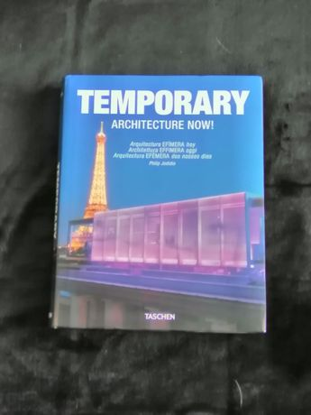 """Temporary Architecture Now!"" Taschen - como novo"