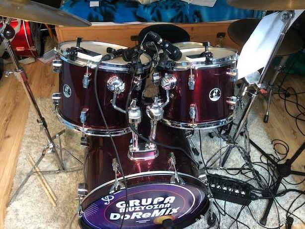 Perkusja Sonor 507 komplet.