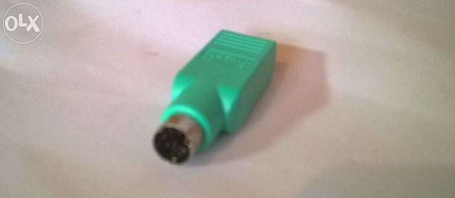 Переходник (конвертор, адаптер) USB-PS/2, новый