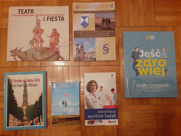 Różne książki