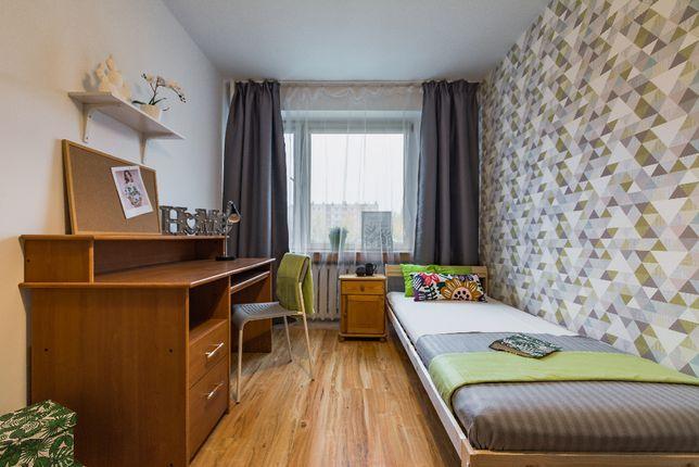 Duży pokój 1 osobowy ul. Heila - blisko Bonarki, Pokój z garderobą!