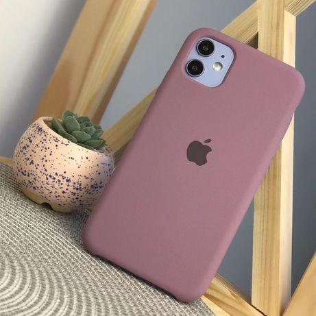 Силиконовый чехол Apple Silicone Case Amethyst для iPhone 11