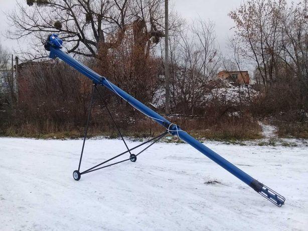 Шнековый траснпортер, погрузчик производительностью до 5 тонн в час