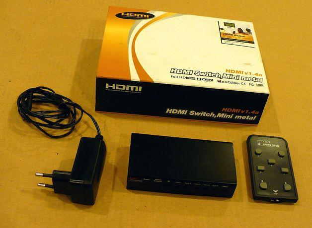 Przełącznik HDMI Switch 4/1