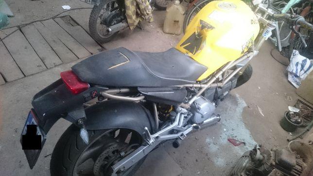 Ducati Monster 600 po wypadku, na części