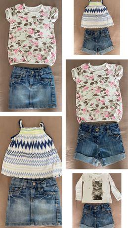 Пакет речей для літа/легка осінь б/в для дівч 3-4 р (Next, H&M, F&F)