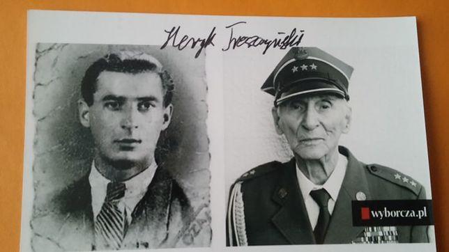 Katyń odkrywca grobów Henryk Troszczyński autograf