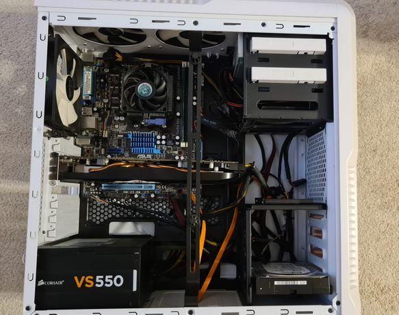 Komputer stacjonarny AMD-FX6100 6x3.3Ghz 8GB SSD + HDD RADEON 1GB
