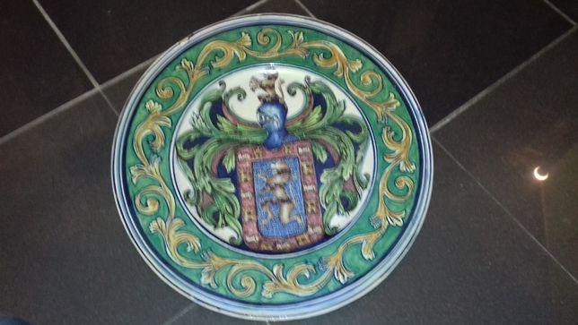 Grande prato porcelana Santana, peça da primeira metade sec,xix.