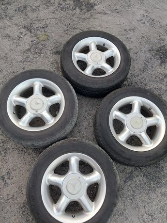 Koła aluminiowe 15 Mercedes
