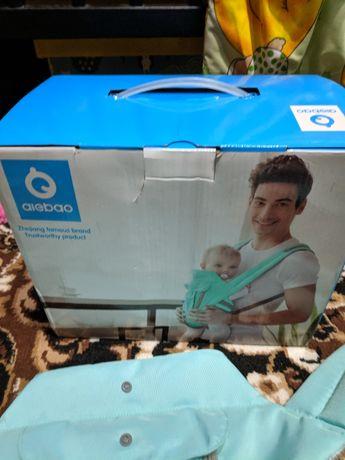 Эрго-рюкзак с хипситом для детей 3-в-1 ProTech Green (A6612G)