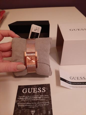 Nowy Zegarek Guess bransoleta z kryształkami
