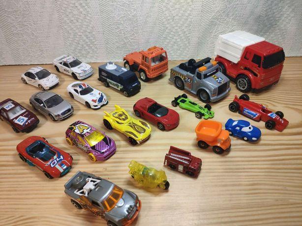 Машинки метал маленькие маленькі модельки Hot Weels Matchbox Realtoy