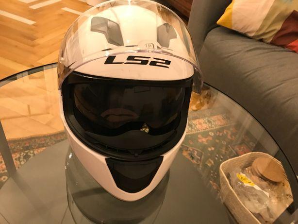 """Kask motocyklowy LS2 STREAM """"S"""" 55-56cm"""