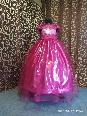 Бальное, нарядное, выпускное платье на 5-7 лет