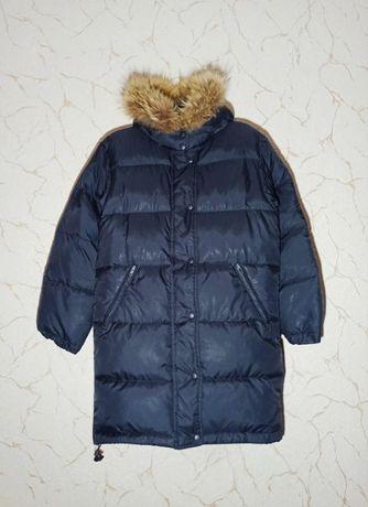 Пуховое пальто для подростка