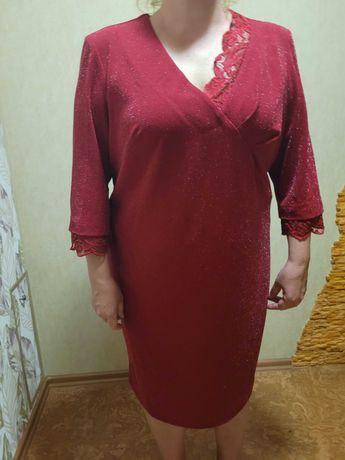 Новое нарядное платье р 58-60