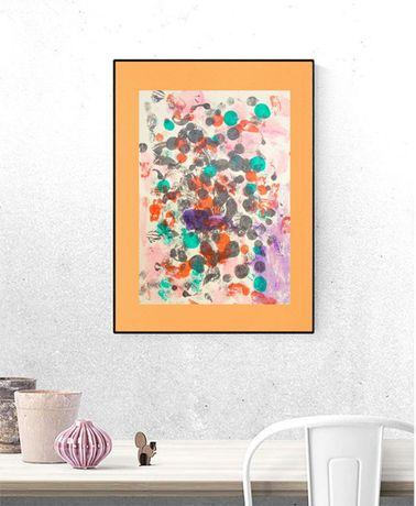dekoracja abstrakcja, design abstrakcja, lofty grafika, minimalizm gra