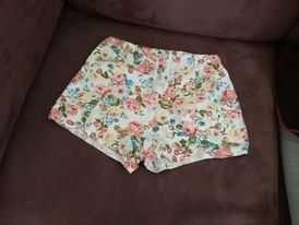 calções menina tamanho 10 anos