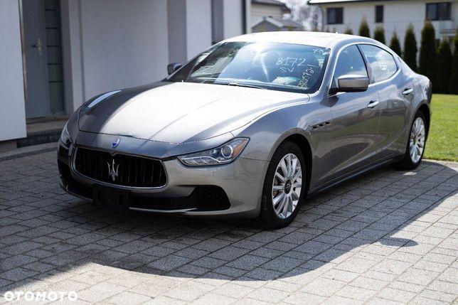 Maserati Ghibli wersja EU 66 tys km bardzo delikatnie uszkodzony WARTO!!!