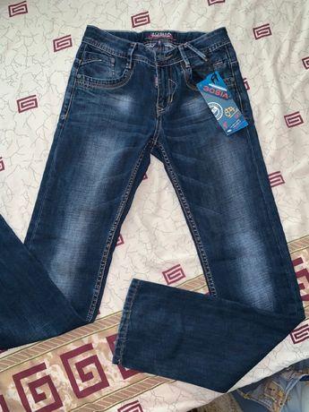джинсы штаны джинсовые на подростка