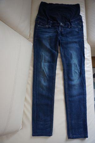 Spodnie ciążowe jeansowe H&M, rozm. 36