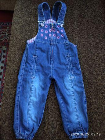 Дитячий комбінезон джинсовий