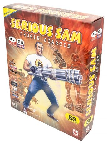 Serious Sam Drugie Starcie PL / PC / Big Box