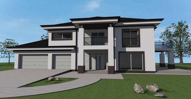 Kompleksowe usługi projektowe .Domów oraz rozbudowa.