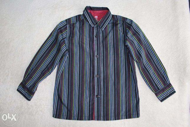 Рубашка школьная на мальчика 7-8 лет