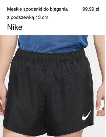 Nike spodenki do biegania S męskie nowe