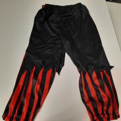 Spodnie pirackie pirata pirat stroj rozm 116