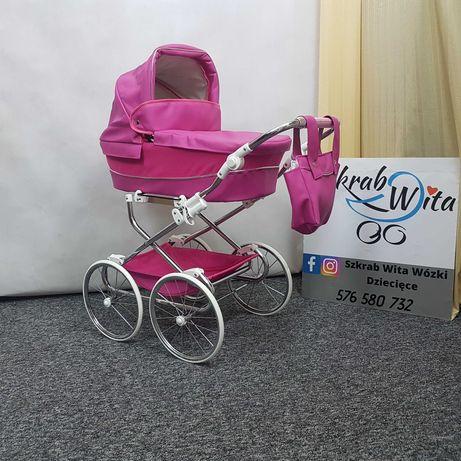 Wózek dla lalek retro 3 kolory HIT gwarancja wysyłka FB szkrabwita.pl