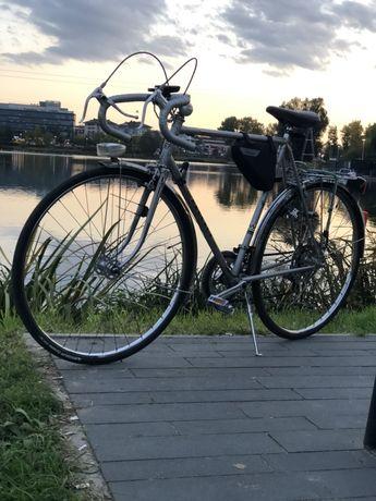 Rower szosa kolarka Peugeot kolarzówka turystyczna retro vintage Pozna