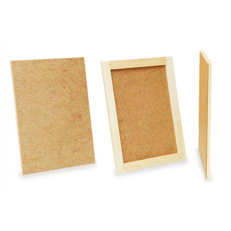 Планшет художественный ДВП деревянный для рисования холст мольберт