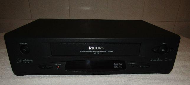 Leitor de Video VHS PHIFIPS