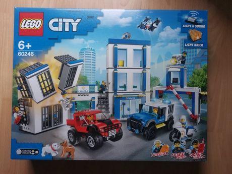 LEGO 60246 - City - Posterunek Policji - Nówka - Plomby