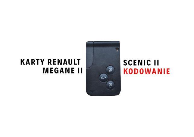 Karta Renault Megane 2 Scenic 2 + kodowanie