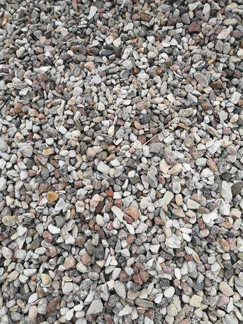 Kamień otoczak 2-8, 8-16, 16-32, piasek, żwir, tłuczeń, gruz,transport