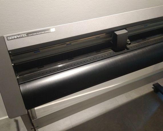 Широкоформатный режущий плоттер Graphtec CE6000 120 не принтер Mimaki