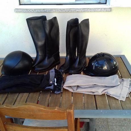 Conjunto equitação - Hipismo
