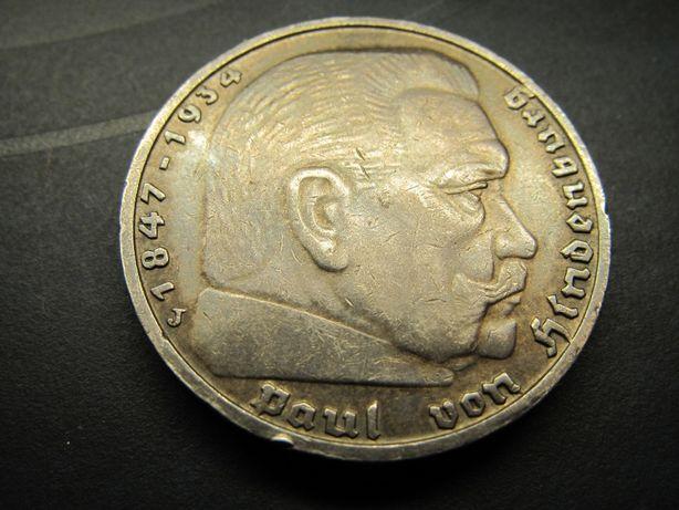 5 рейхсмарок 1938