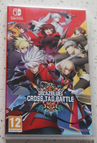 BlazBlue Cross Tag Battle - Nintendo Switch + mini disc audio