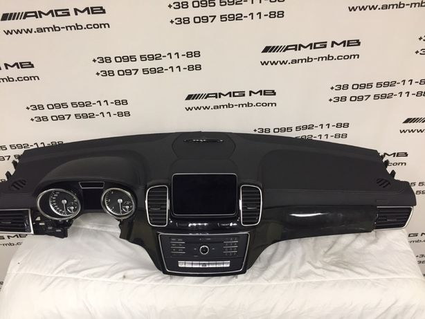 Торпеда AIR BAG Мерседес Mercedes GLE GLS 166 292 COUPE