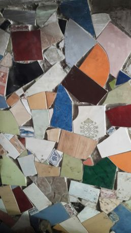 Плитка бой для мозаики