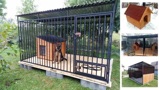 Kojec dla psa 3x2m, klatka, boks, zagroda, wiaty, najwyższa jakość