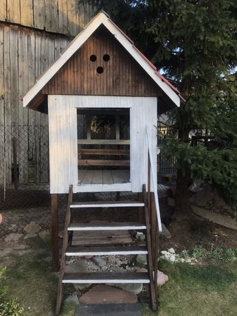 Domek dla dzieci drewniany jak nowy